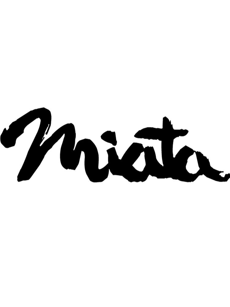 Mazda Miata Logo/Emblem by Grove