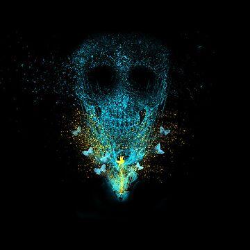 Glowing Skull by tianlubis