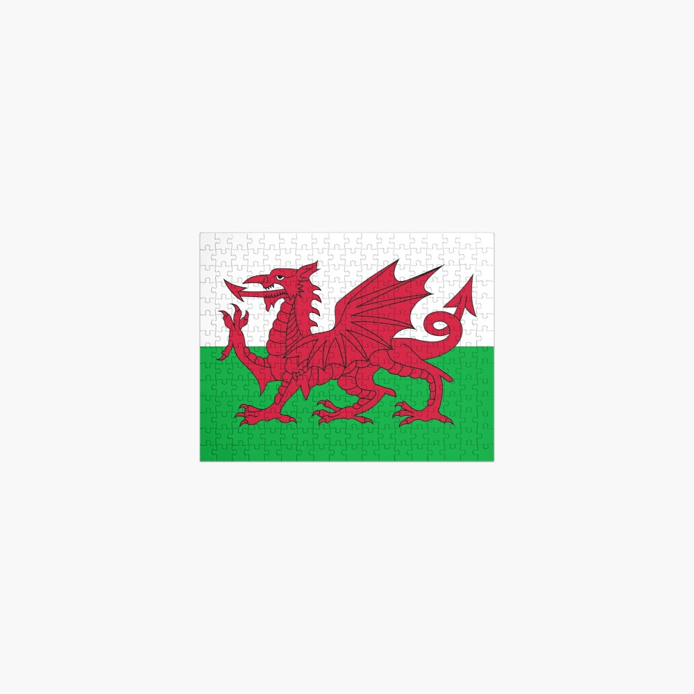 Flag of Wales - Welsh Flag Jigsaw Puzzle