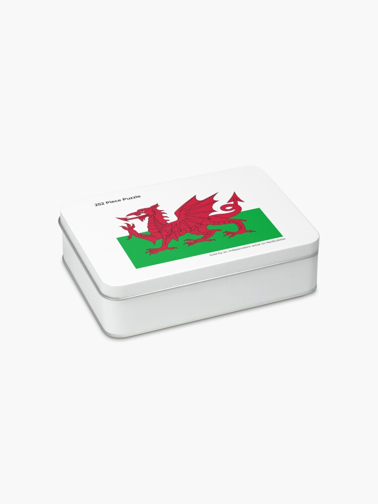 Alternate view of Flag of Wales - Welsh Flag Jigsaw Puzzle