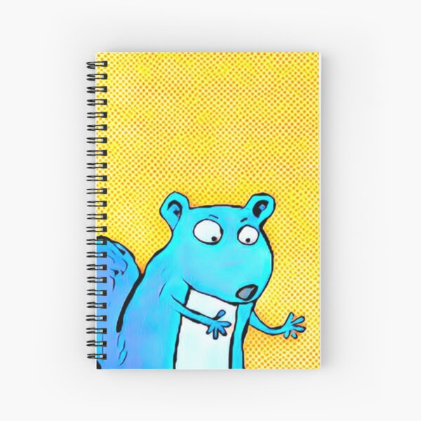 EXTRAPOLATING SQUIRREL Spiral Notebook