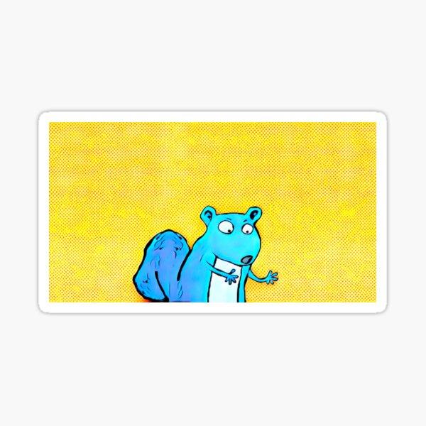 EXTRAPOLATING SQUIRREL Sticker