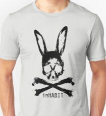 ...and so we inHABIT. (black) Unisex T-Shirt