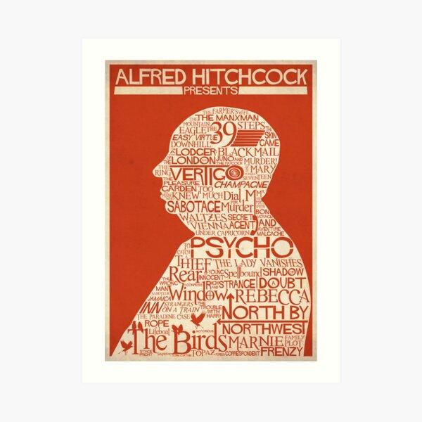 Alfred Hitchcock Presents... Art Print
