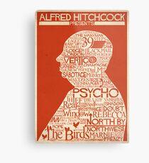 Alfred Hitchcock Presents... Metal Print