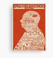 Lienzo Alfred Hitchcock presenta ...