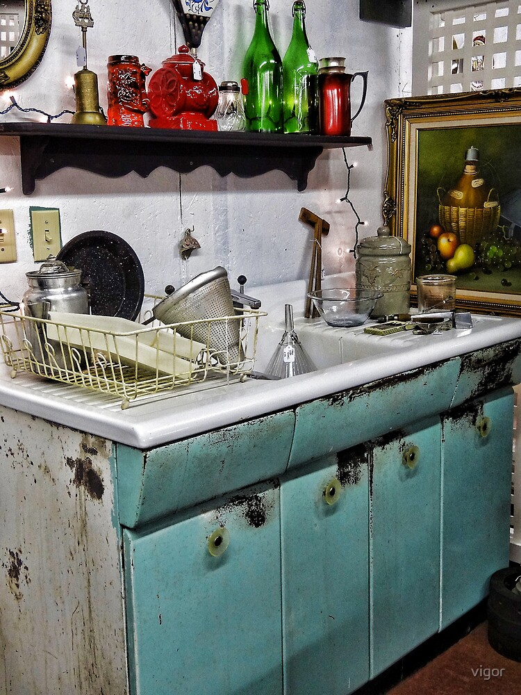 This old sink by vigor