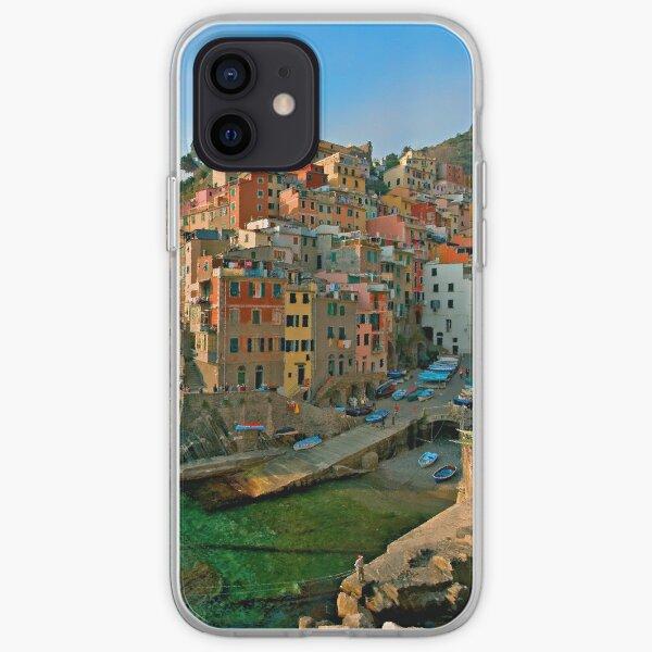 Italy. Cinque Terre - canals iPhone Soft Case