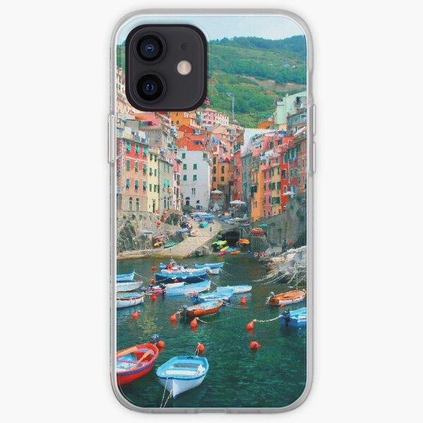 Italy. Cinque Terre marina  iPhone Soft Case