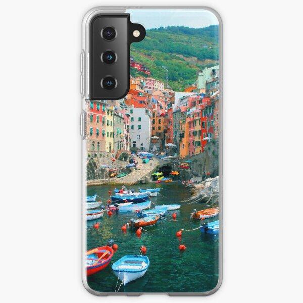 Italy. Cinque Terre marina  Samsung Galaxy Soft Case