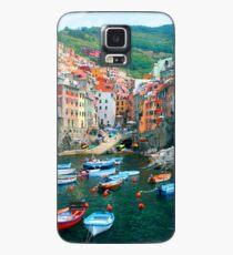 Italy. Cinque Terre marina  Case/Skin for Samsung Galaxy