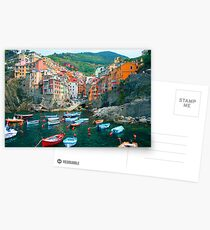 Italy. Cinque Terre marina  Postcards