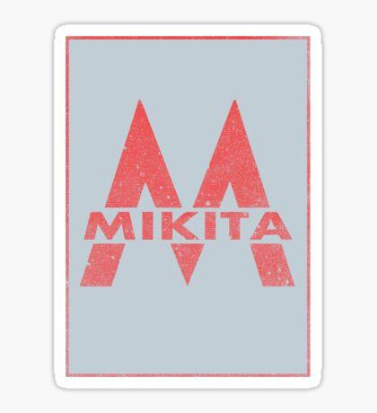 Retro 60's CTA Sign Mikita Sticker