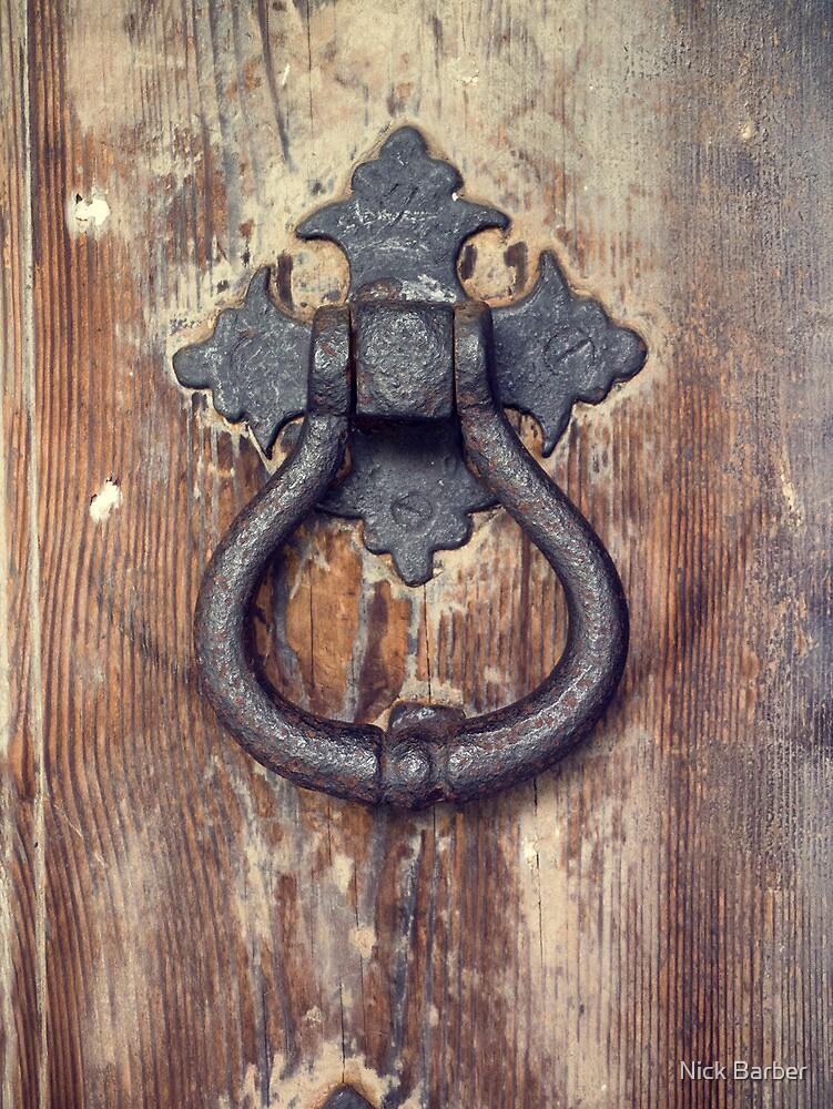 Door knocker by Nick Barber