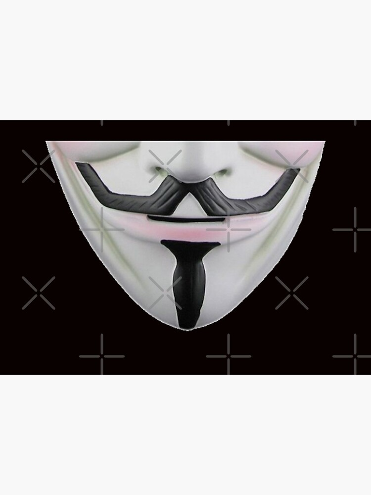 Guy Fawkes Face Mask by enigmaticone