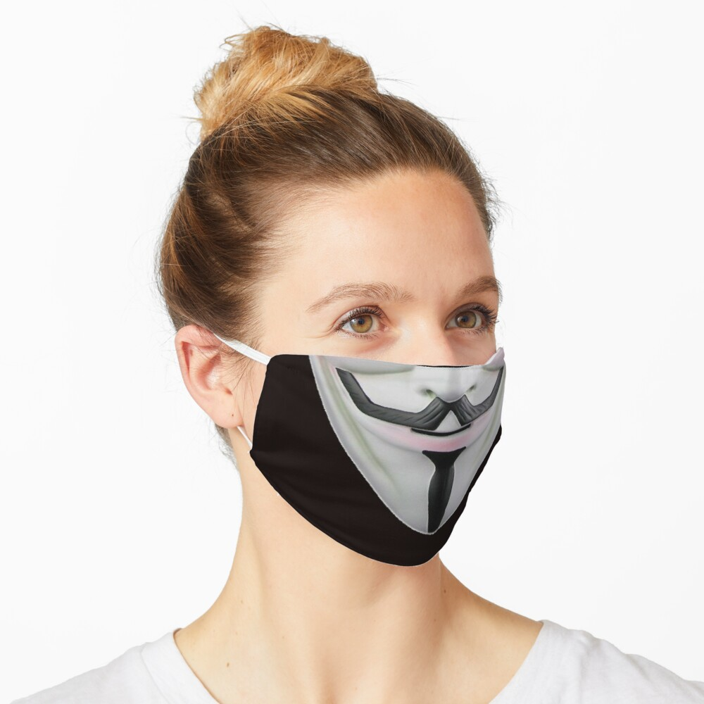 Guy Fawkes Face Mask Mask