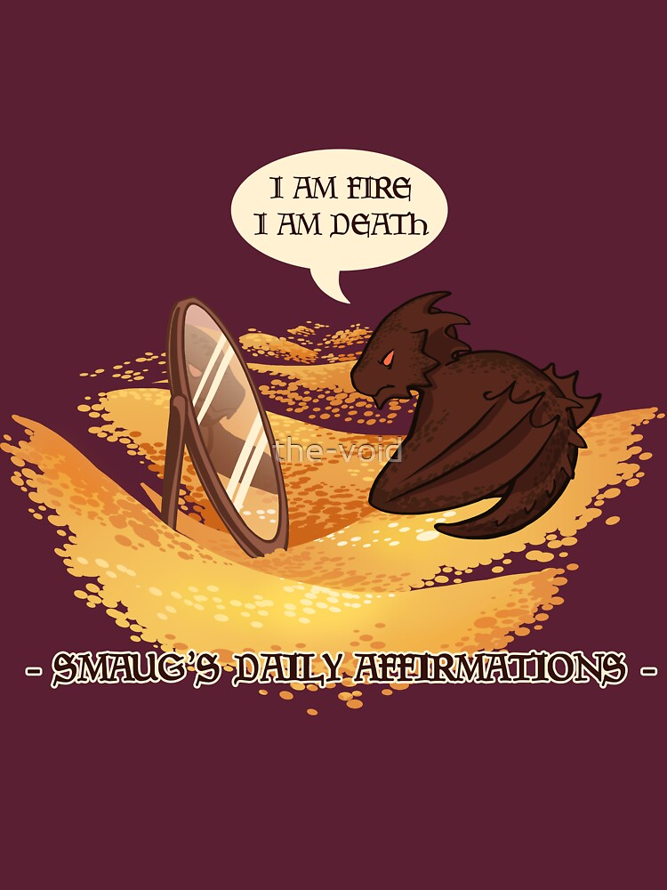Smaug's Daily Affirmations | Unisex T-Shirt