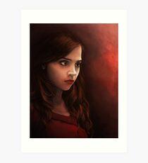 Clara Oswin Oswald - Doctor Who Art Print