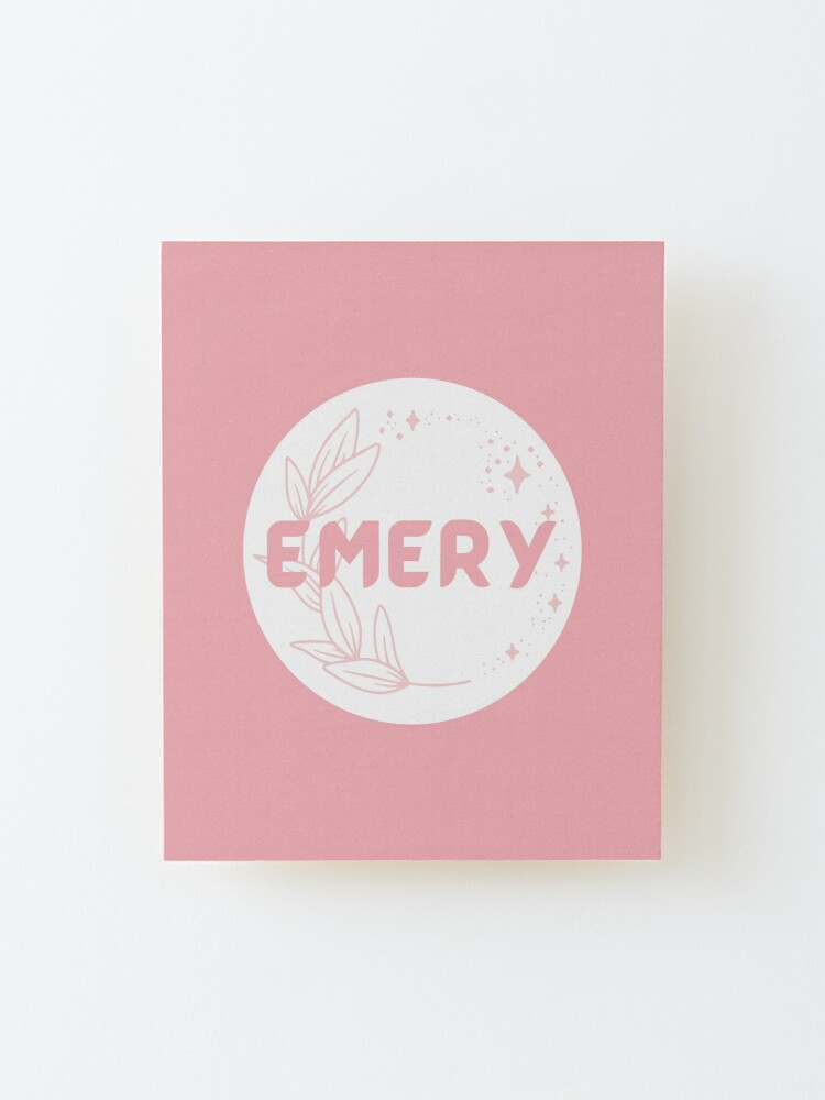 Alternate view of Emery Mounted Print
