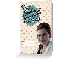 Molly Hooper Valentine's Day Card Greeting Card