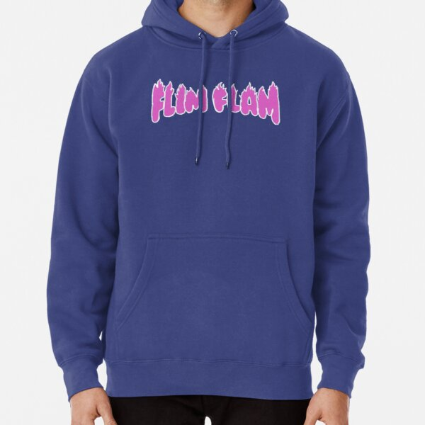 Flamingo Merch! (new) BLUE Pullover Hoodie