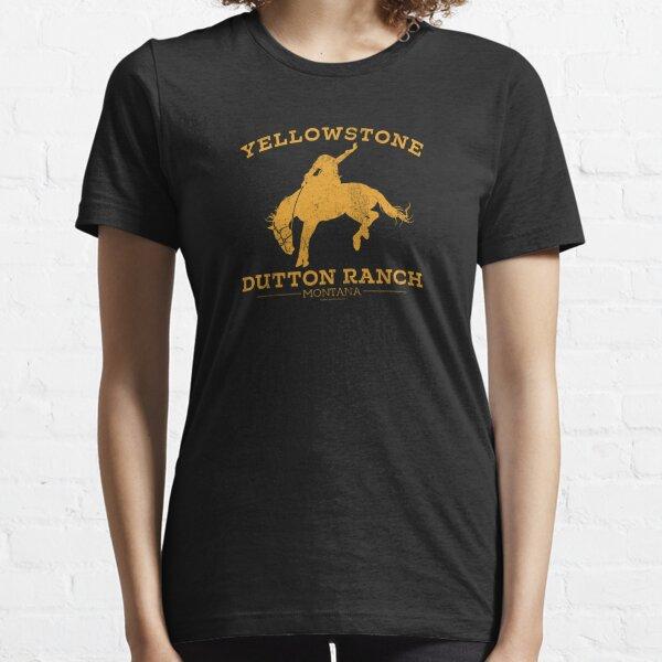 Yellowstone Dutton Ranch Montana Essential T-Shirt