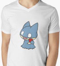 Cute Munchlax Men's V-Neck T-Shirt