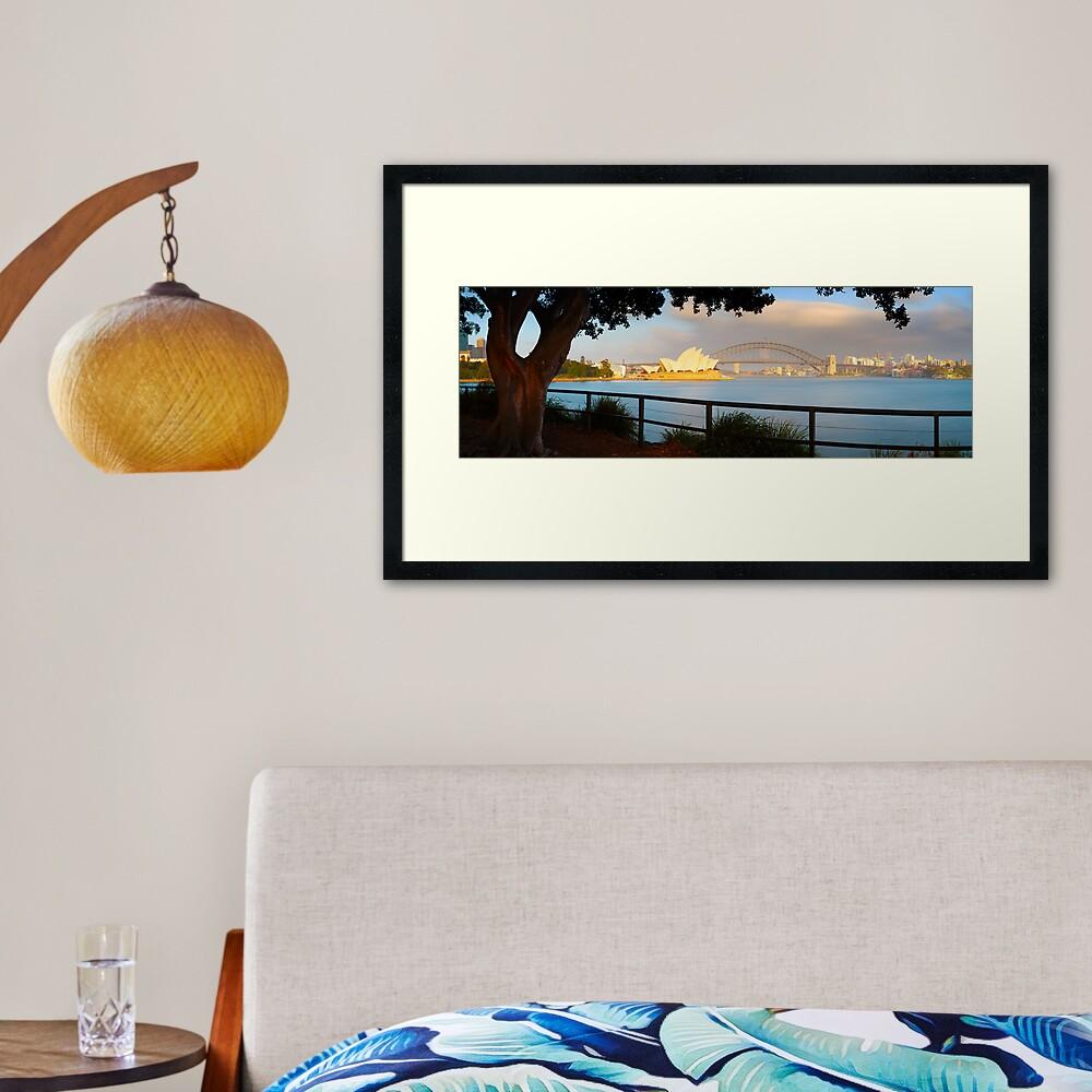 One Morning in Sydney, New South Wales, Australia Framed Art Print