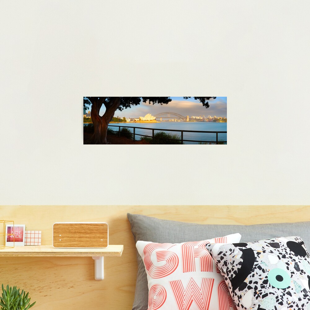 One Morning in Sydney, New South Wales, Australia Photographic Print