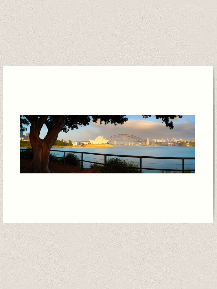 Alternate view of One Morning in Sydney, New South Wales, Australia Art Print