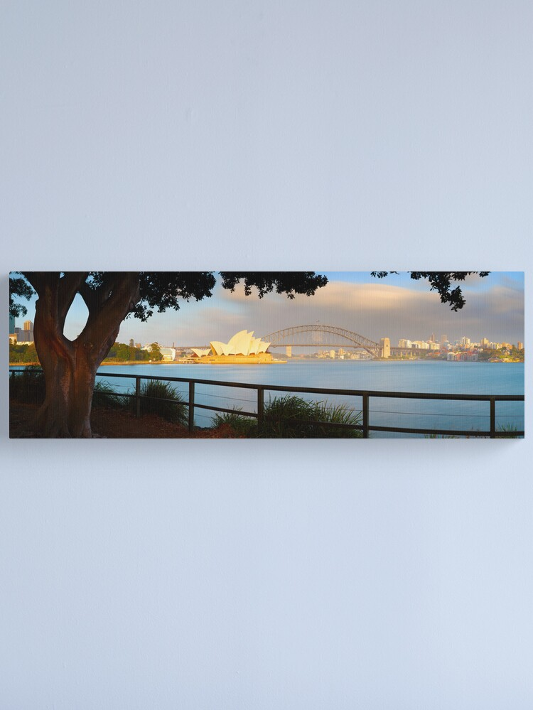 Alternate view of One Morning in Sydney, New South Wales, Australia Canvas Print