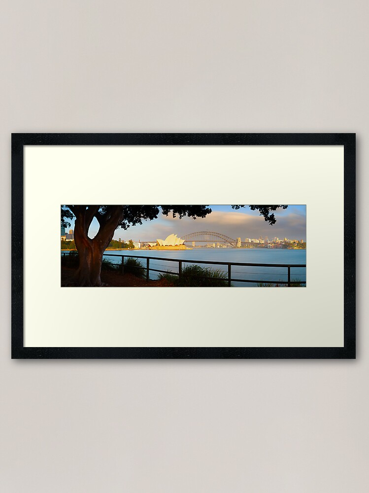 Alternate view of One Morning in Sydney, New South Wales, Australia Framed Art Print