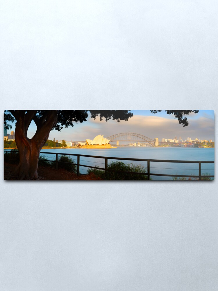 Alternate view of One Morning in Sydney, New South Wales, Australia Metal Print