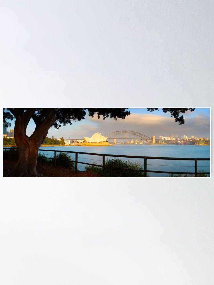 Alternate view of One Morning in Sydney, New South Wales, Australia Poster