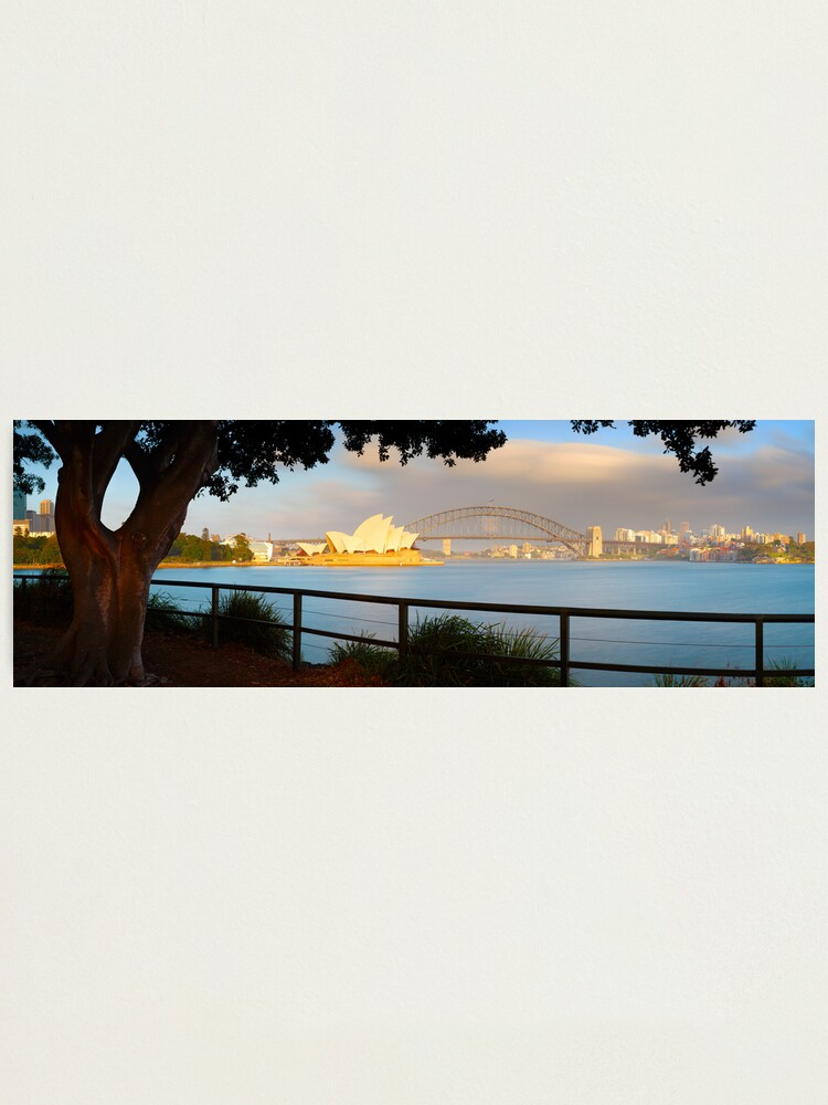 Alternate view of One Morning in Sydney, New South Wales, Australia Photographic Print