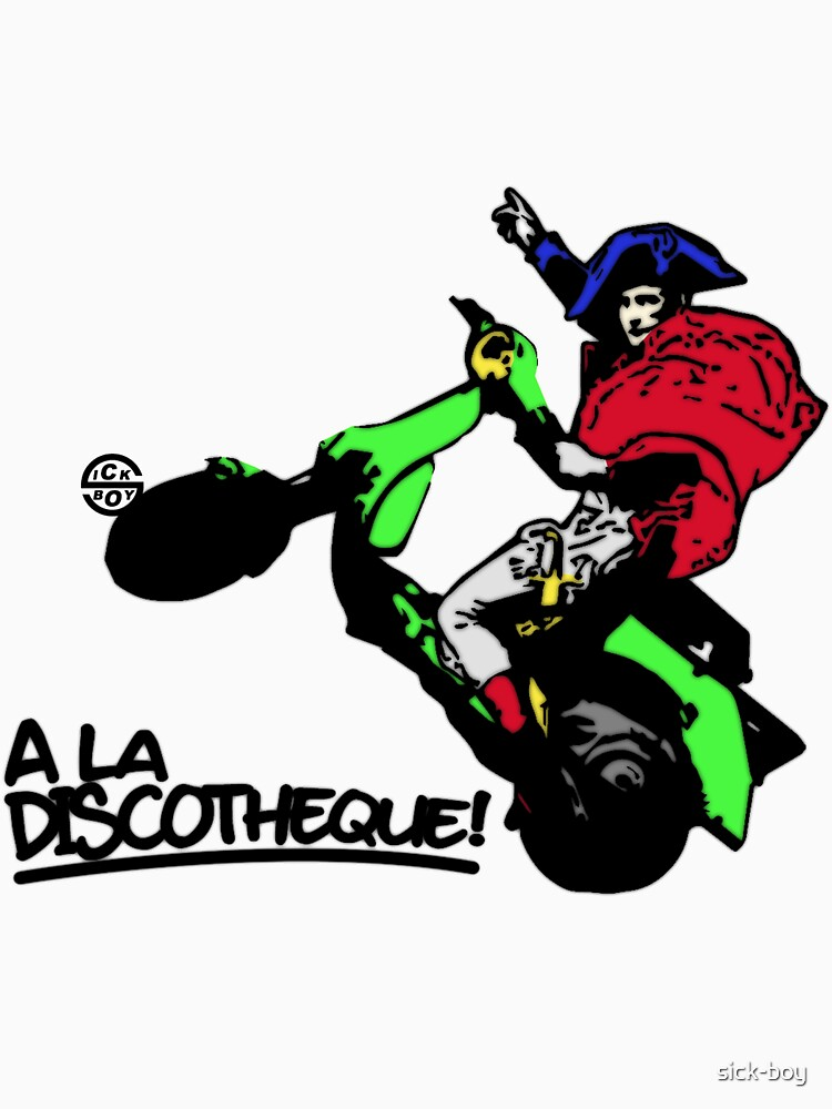 A' la discothèque by sick-boy
