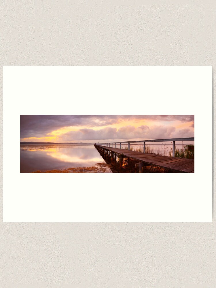 Alternate view of Long Jetty Sunset, New South Wales, Australia Art Print