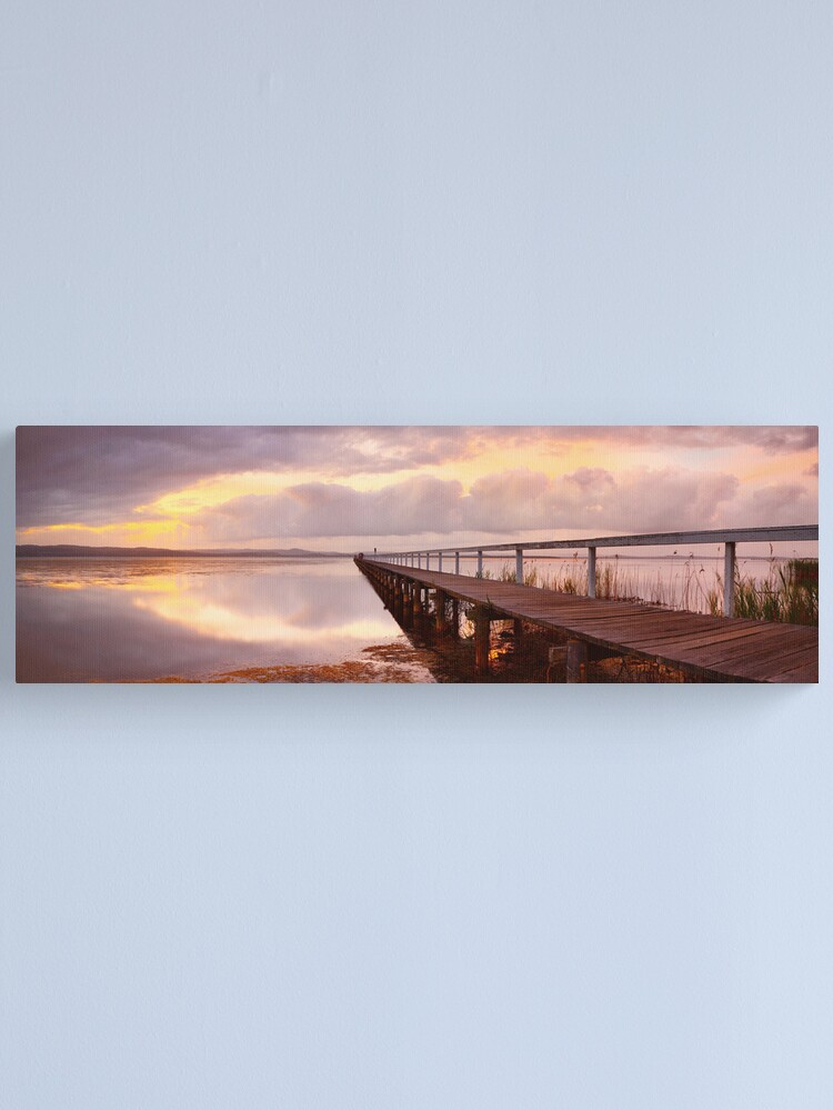 Alternate view of Long Jetty Sunset, New South Wales, Australia Canvas Print