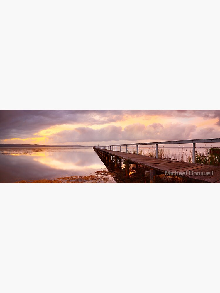 Long Jetty Sunset, New South Wales, Australia by Chockstone