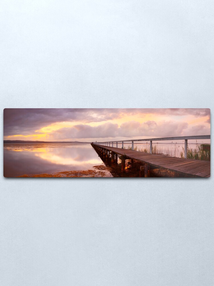 Alternate view of Long Jetty Sunset, New South Wales, Australia Metal Print