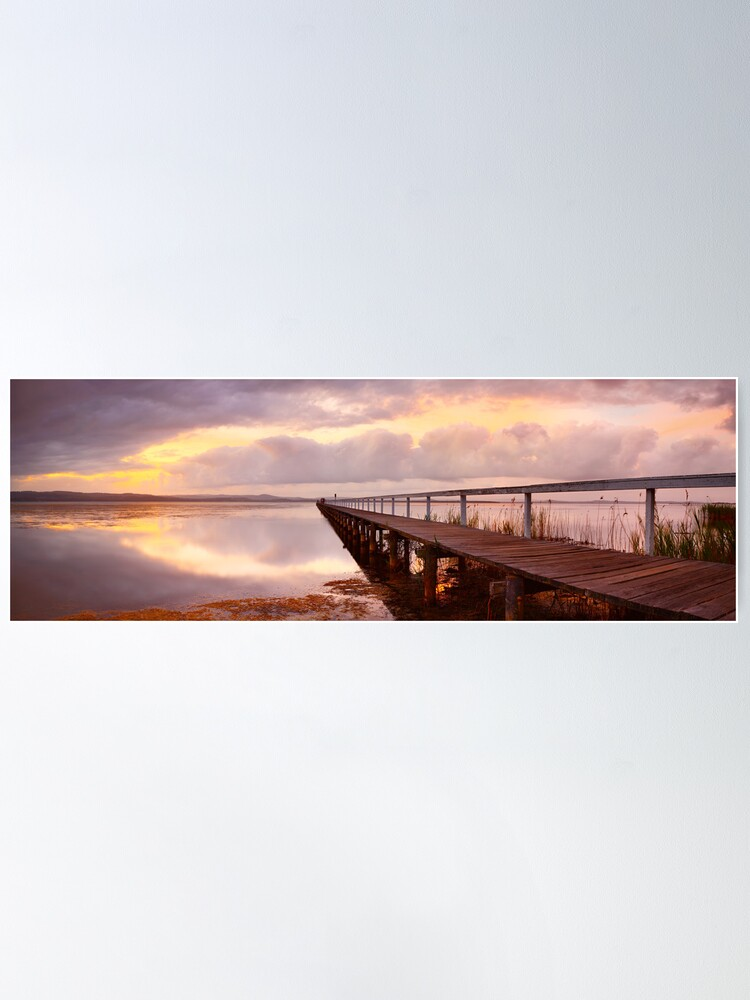 Alternate view of Long Jetty Sunset, New South Wales, Australia Poster