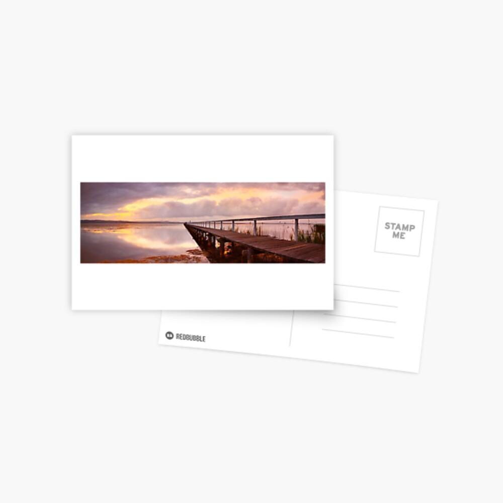 Long Jetty Sunset, New South Wales, Australia Postcard