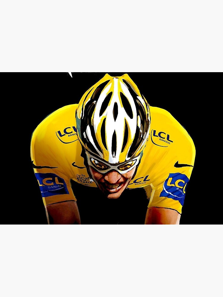 LE TOUR DE FRANCE: Bicycle Racing Print by posterbobs