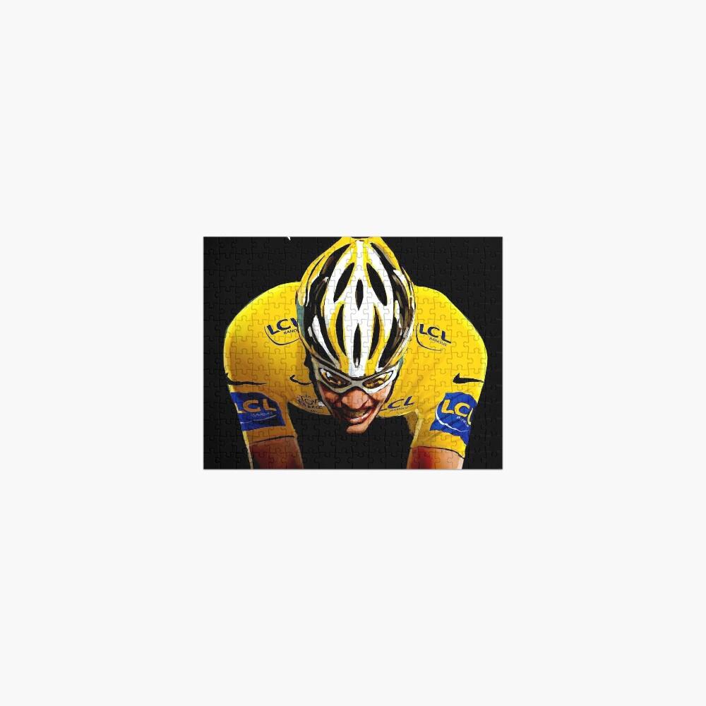LE TOUR DE FRANCE: Bicycle Racing Print Jigsaw Puzzle