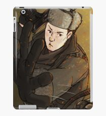 Mycroft is a badass iPad Case/Skin