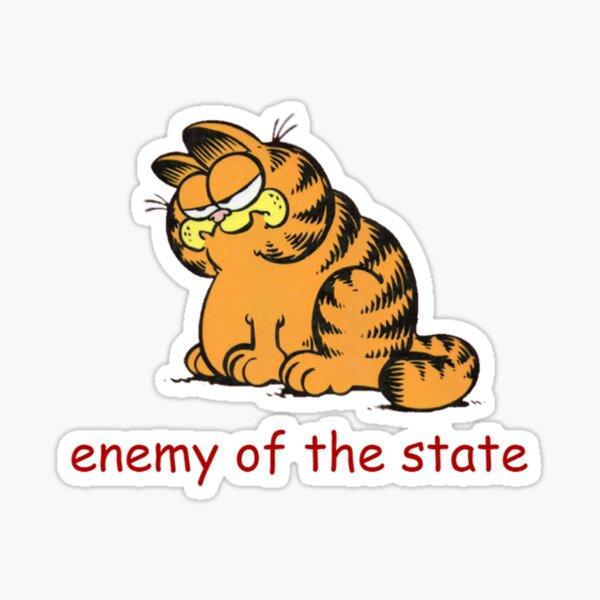 Comrade Garf Sticker