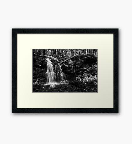 My Hidden Falls Framed Print