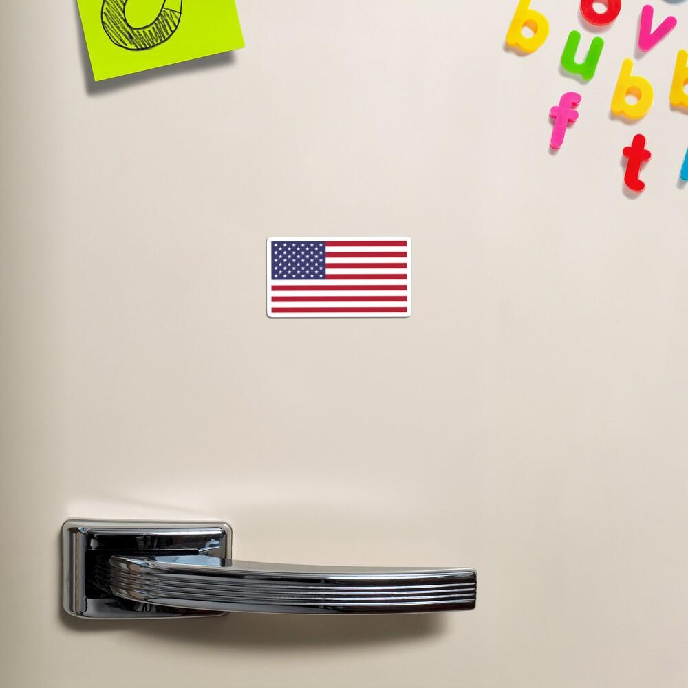 USA Flag Fridge Magnet Magnet