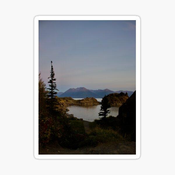 Beluga Point, Alaska Sticker