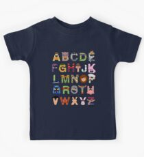 Teenage Mutant Ninja Turtle Alphabet Kids Clothes